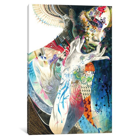 iCanvas 'Indian' by Minjae Lee Canvas Print