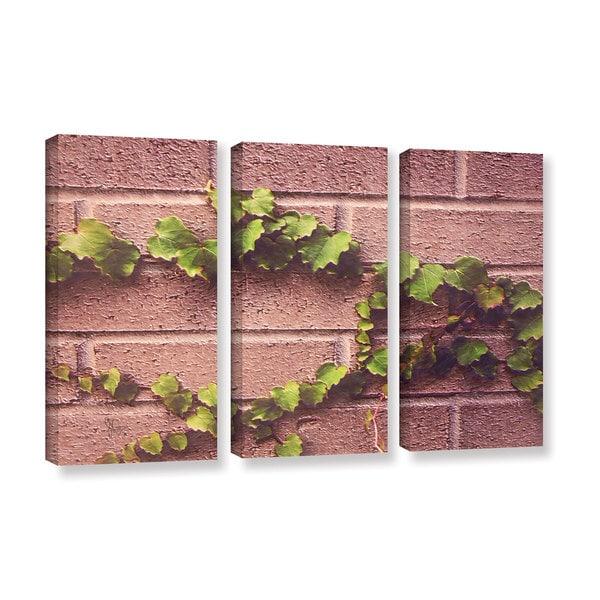 Scott Medwetz's 'Twinning Vine Wall' 3 Piece Gallery Wrapped Canvas Set