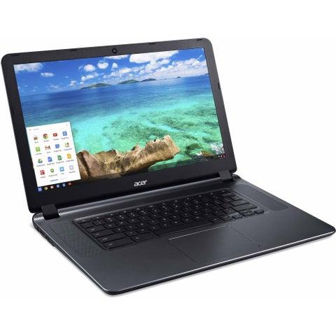 Acer Refurbished 15.6-inch 1.6 GHz Celeron N3060 2 GB Ram 16 GB HDD Chrome OS Laptop