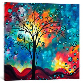 iCanvas Greeting The Dawn by Megan Duncanson Canvas Print