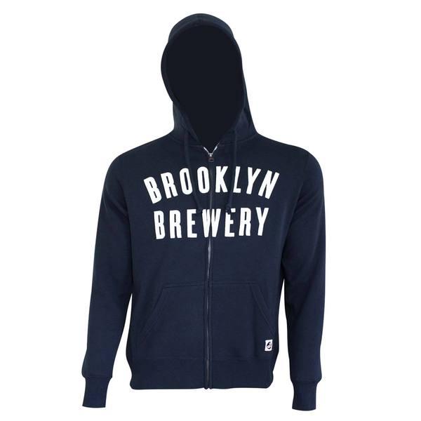 Brooklyn Brewery Zip Up Hoodie