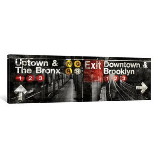 iCanvas 'NYC Subway Station III' by Luke Wilson Canvas Print