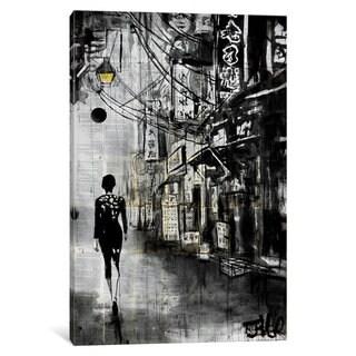 iCanvas 'Chinatown Walk' by Loui Jover Canvas Print