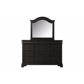 Picket House Furnishings Conley Charcoal Dresser & Mirror Set