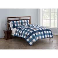 VCNY Home Bradley Reversible 3-piece Comforter Set