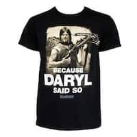Walking Dead Daryl Said So Tee Shirt