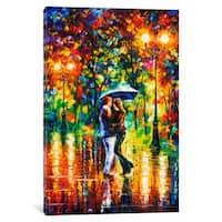iCanvas Rainy Dance II by Leonid Afremov Canvas Print
