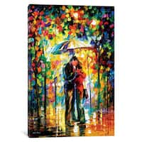 iCanvas 'Kiss In The Park' by Leonid Afremov Canvas Print
