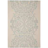 Martha Stewart by Safavieh Tapestry Rainwater / Beige / Blue Area Rug (4' x 5'7)
