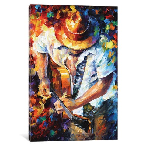 iCanvas 'Guitar and Soul' by Leonid Afremov Canvas Print
