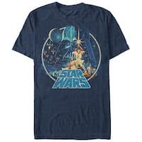 Star Wars Vintage Victory Blue T-Shirt