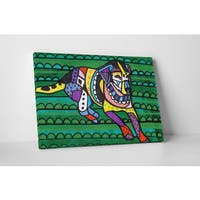 Heather Galler Beagle III Gallery Wrapped Canvas Wall Art