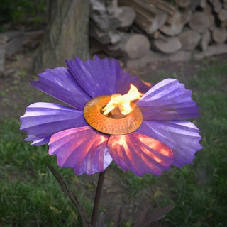 Cosmos Purple Garden Torch