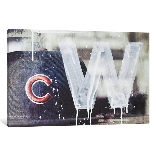 iCanvas 'Cubs Win' by Kent Youngstrom Canvas Print