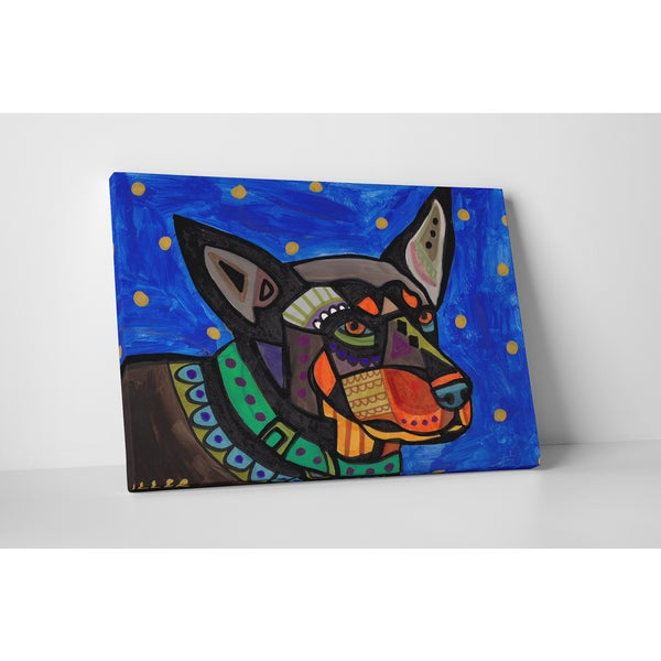 Heather Galler Australian Kelpie Gallery Wrapped Canvas Wall Art