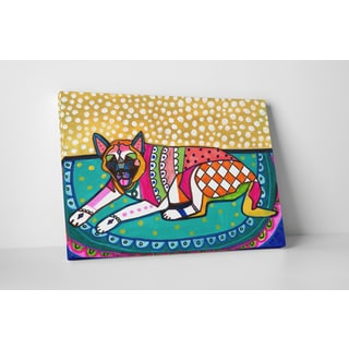 Heather Galler Akita I Gallery Wrapped Canvas Wall Art