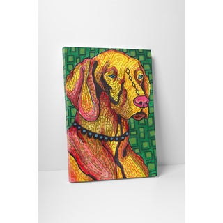 Heather Galler Vizsla Gallery Wrapped Canvas Wall Art