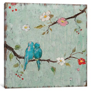 iCanvas 'Love Birds IV' by Katy Frances Canvas Print