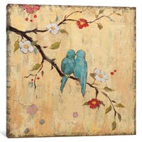 iCanvas 'Love Birds II' by Katy Frances Canvas Print