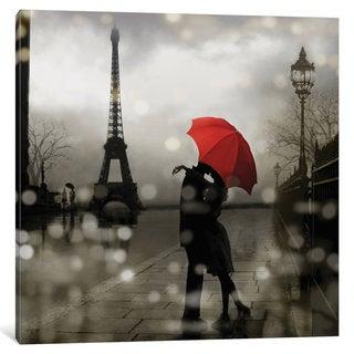 iCanvas 'Paris Romance' by Kate Carrigan Canvas Print