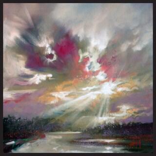 Scott Naismith 'Grey Clouds' Canvas Wall Art