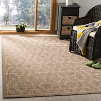 Martha Stewart by Safavieh Brown / Beige Area Rug - 5'3 x 7'7