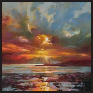 Scott Naismith 'Sun Rays' Gallery-wrapped Framed Gel-brush-finish Canvas Wall Art