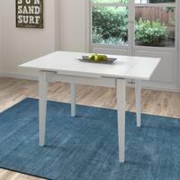 Copper Grove Vrlika White Extendable Square Dining Table
