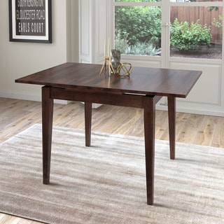 CorLiving Cappuccino Extendable Square Dining Table