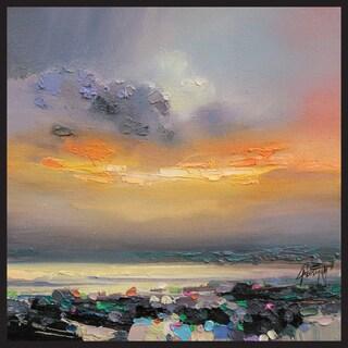 Scott Naismith 'Mild Sunset' Canvas Wall Art
