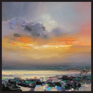 Mild Sunset Canvas Print Wall Art by ArtMaison Canada