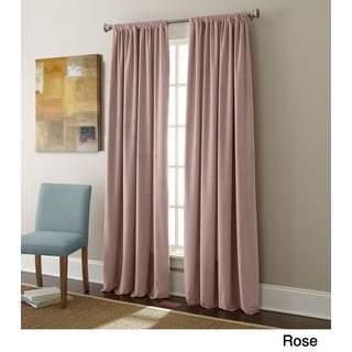 Sherry Kline Elite Velvet 96-inch Room-darkening Curtain Panel Pair