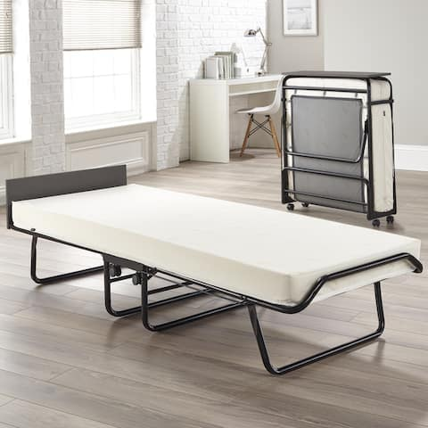 JAY-BE Visitor Regular Folding Bed with Memory Foam Mattress