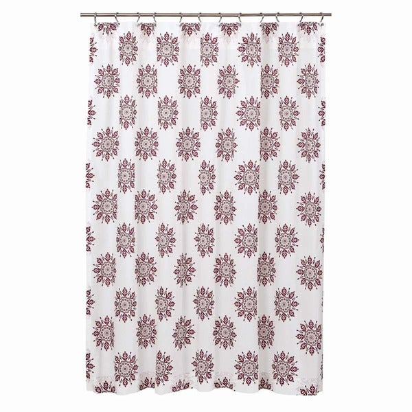 Mariposa Fuchsia Shower Curtain