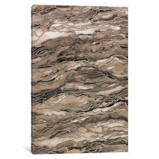iCanvas Marble Idea! - Rustic Elements by Julia Di Sano Canvas Print