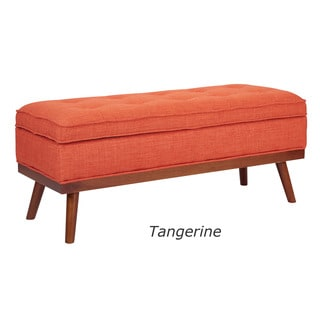 Ave Six Mid-Century Katheryn Storage Bench