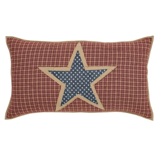 Independence Cotton Lux King Sham