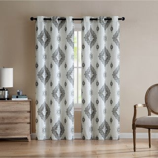 VCNY Home Nola Printed Curtain Panel Pair