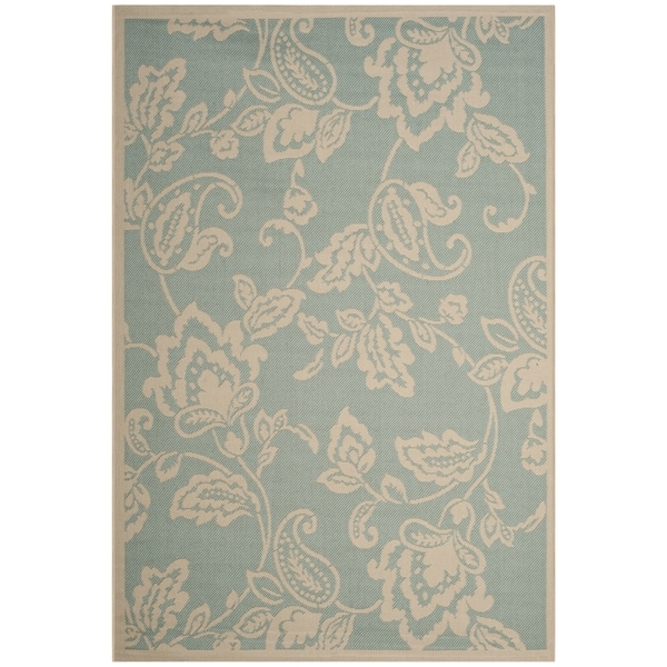 Shop Martha Stewart By Safavieh Highland Lily Aqua Beige