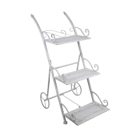Orchies Metal 3-tiered Plant Stand