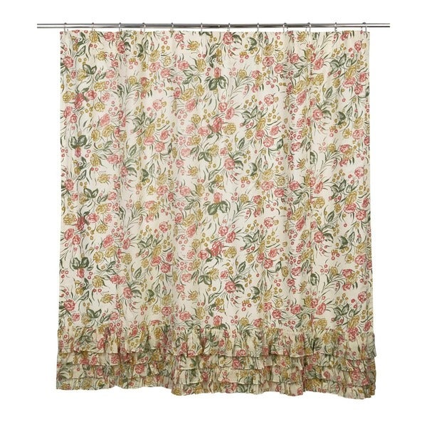 Madeline Ruffled Shower Curtain