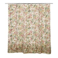 Madeline Ruffled Shower Curtain