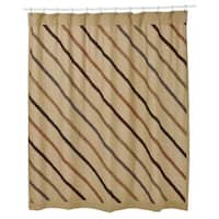 Lewiston Shower Curtain Ruffled