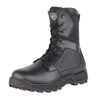 "Men's Condor Murphy 9"" Black Side-Zip Tactical Boot"