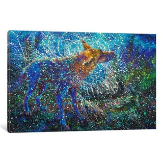 iCanvas 'Lobo del Cielo' by Iris Scott Canvas Print