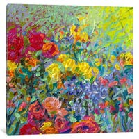 iCanvas 'Clay Flowers' by Iris Scott Canvas Print