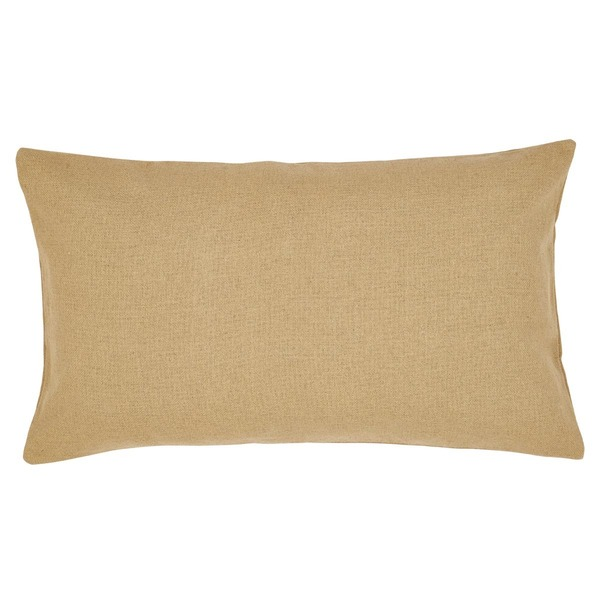 Burlap Natural Cotton Lux King Sham