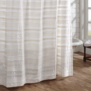 Jasmine Cotton Shower Curtain