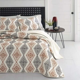 Azalea Skye Cusco Rhombus Quilt Set|https://ak1.ostkcdn.com/images/products/15439751/P21889925.jpg?impolicy=medium