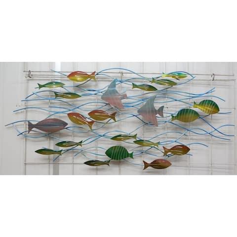 Tropic Reef Metal Wall Art by Metal Perspectives